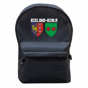 Plecak z przednią kieszenią Herb Bielska-Biała