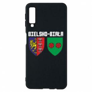 Etui na Samsung A7 2018 Herb Bielska-Biała