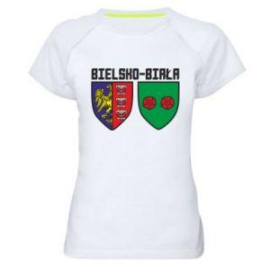 Koszulka sportowa damska Herb Bielska-Biała