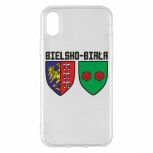 Etui na iPhone X/Xs Herb Bielska-Biała