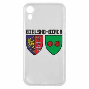 Etui na iPhone XR Herb Bielska-Biała