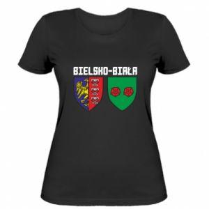 Koszulka damska Herb Bielska-Biała