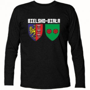 Koszulka z długim rękawem Herb Bielska-Biała