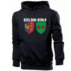Bluza z kapturem męska Herb Bielska-Biała