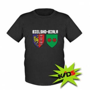 Dziecięcy T-shirt Herb Bielska-Biała