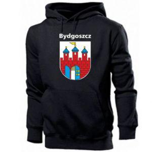 Męska bluza z kapturem Herb Bydgoszcz