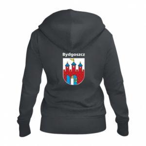 Damska bluza na zamek Herb Bydgoszcz