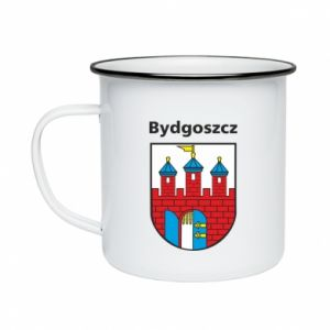 Kubek emaliowane Herb Bydgoszcz