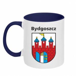 Kubek dwukolorowy Herb Bydgoszcz