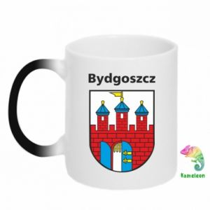 Kubek-kameleon Herb Bydgoszcz
