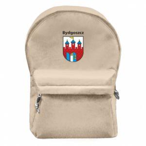Plecak z przednią kieszenią Herb Bydgoszcz