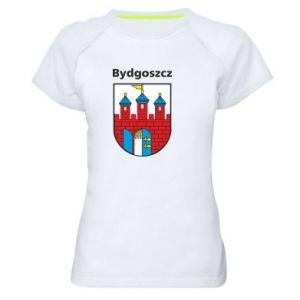 Damska koszulka sportowa Herb Bydgoszcz