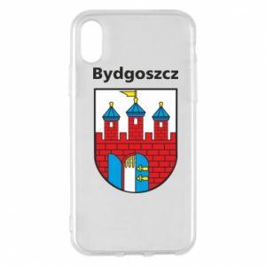 Etui na iPhone X/Xs Herb Bydgoszcz