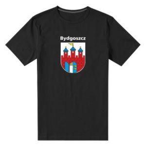 Męska premium koszulka Herb Bydgoszcz