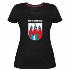 Damska premium koszulka Herb Bydgoszcz