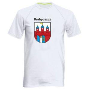 Męska koszulka sportowa Herb Bydgoszcz