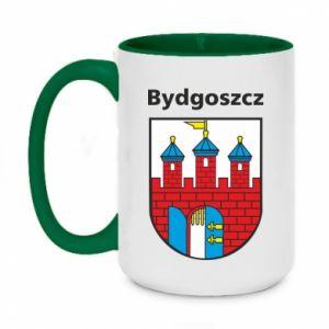 Kubek dwukolorowy 450ml Herb Bydgoszcz
