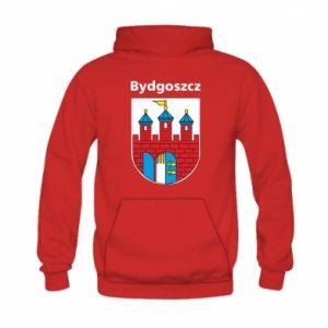 Bluza z kapturem dziecięca Herb Bydgoszcz