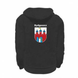 Bluza na zamek dziecięca Herb Bydgoszcz