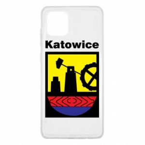 Samsung Note 10 Lite Case Emblem Katowice