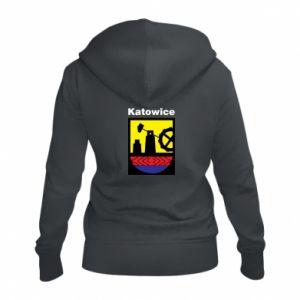 Damska bluza na zamek Herb Katowice