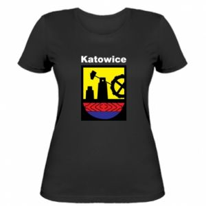 Koszulka damska Herb Katowice