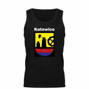 Męska koszulka Herb Katowice