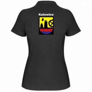 Women's Polo shirt Emblem Katowice