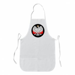 Apron Polish emblem and flag of Poland - PrintSalon