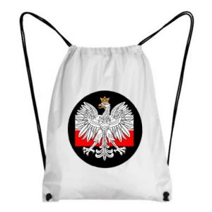 Backpack-bag Polish emblem and flag of Poland
