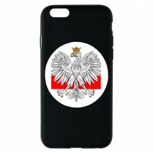 Phone case for iPhone 6/6S Polish emblem and flag of Poland - PrintSalon