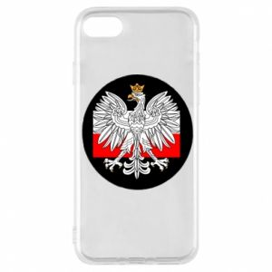 Phone case for iPhone 7 Polish emblem and flag of Poland - PrintSalon