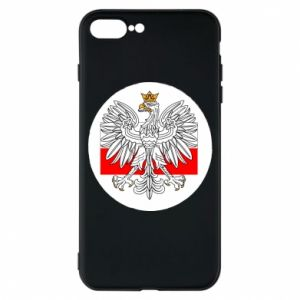 Phone case for iPhone 7 Plus Polish emblem and flag of Poland - PrintSalon