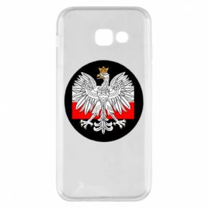 Phone case for Samsung A5 2017 Polish emblem and flag of Poland - PrintSalon