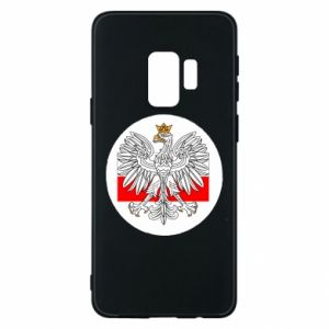 Phone case for Samsung S9 Polish emblem and flag of Poland - PrintSalon