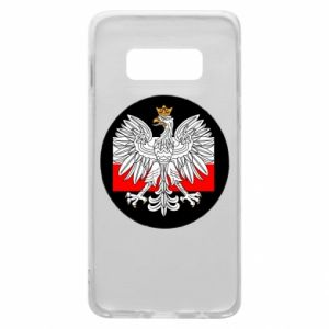 Phone case for Samsung S10e Polish emblem and flag of Poland - PrintSalon