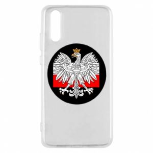 Phone case for Huawei P20 Polish emblem and flag of Poland - PrintSalon