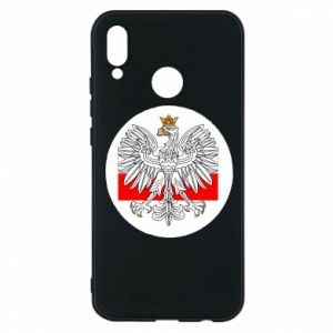 Phone case for Huawei P20 Lite Polish emblem and flag of Poland