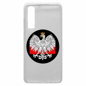Phone case for Huawei P30 Polish emblem and flag of Poland - PrintSalon