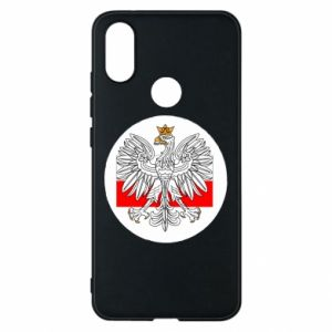Phone case for Xiaomi Mi A2 Polish emblem and flag of Poland - PrintSalon