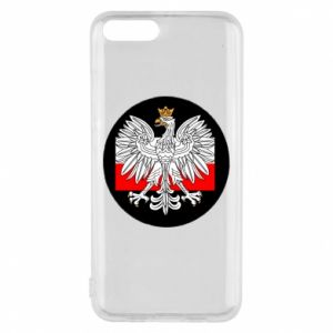 Phone case for Xiaomi Mi6 Polish emblem and flag of Poland - PrintSalon