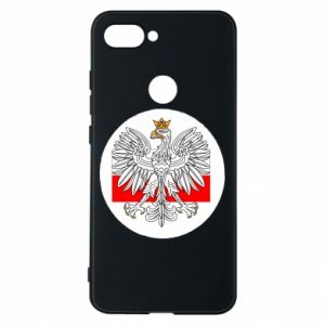 Phone case for Xiaomi Mi8 Lite Polish emblem and flag of Poland