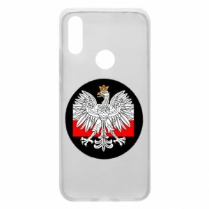 Phone case for Xiaomi Redmi 7 Polish emblem and flag of Poland - PrintSalon