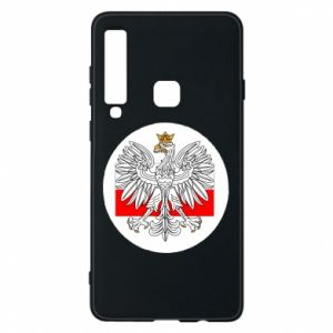 Phone case for Samsung A9 2018 Polish emblem and flag of Poland - PrintSalon