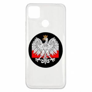 Xiaomi Redmi 9c Case Polish emblem and flag of Poland