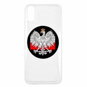 Etui na Xiaomi Redmi 9a Herb Polski i flaga Polski