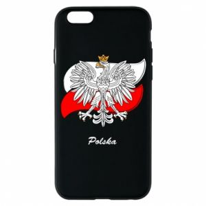 Phone case for iPhone 6/6S Poland Fighting against the background of the flag