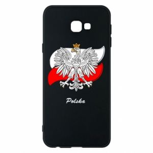 Phone case for Samsung J4 Plus 2018 Poland Fighting against the background of the flag