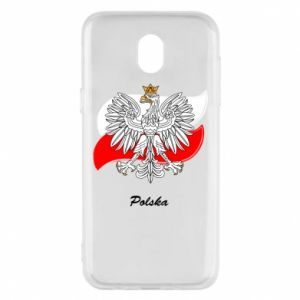 Phone case for Samsung J5 2017 Poland Fighting against the background of the flag