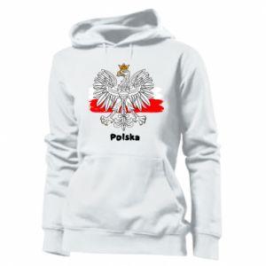 Damska bluza Herb Polski
